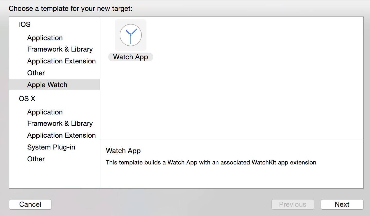 Creat Apple Watch App